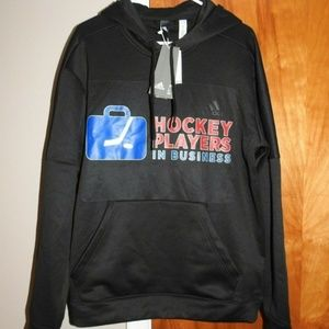 Adidas Hoodie Pullover Hockey Players In Business